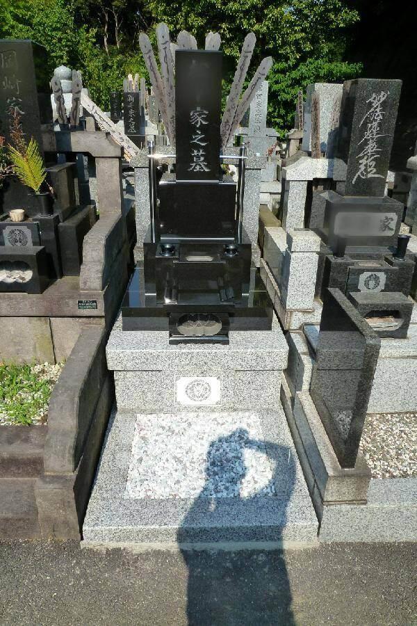 【日野公園墓地】のお墓建立 『クンナム+G623』
