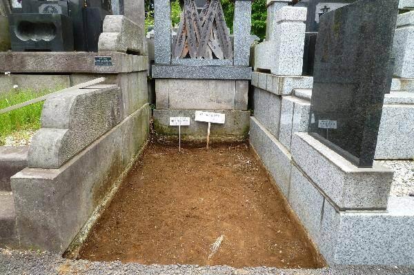日野公園墓地M様更地