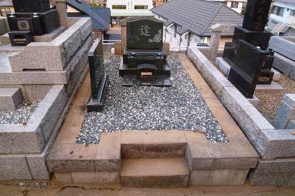 【お墓のリフォーム】『M1-Hで墓石を建立』~日野霊園~