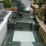 【日野公園墓地】のお墓建立 『M1-H総造り』
