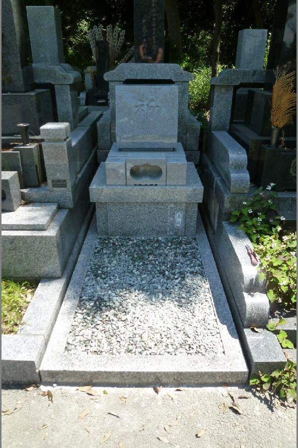 【日野公園墓地】のお墓建立『G623+G614』